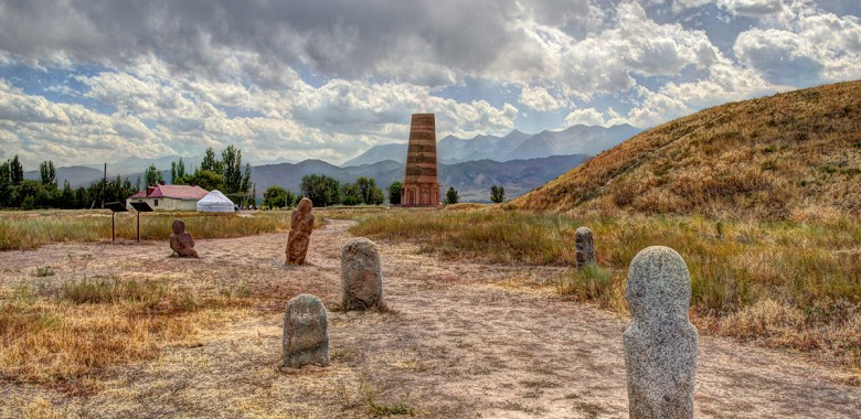 Day 2. Bishkek – Burana - Chon Kemin (200 km, 3h)