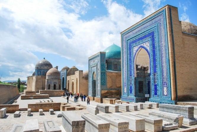 Day 11 (Mon) Samarkand (visits) – Tashkent (drive 4h.)