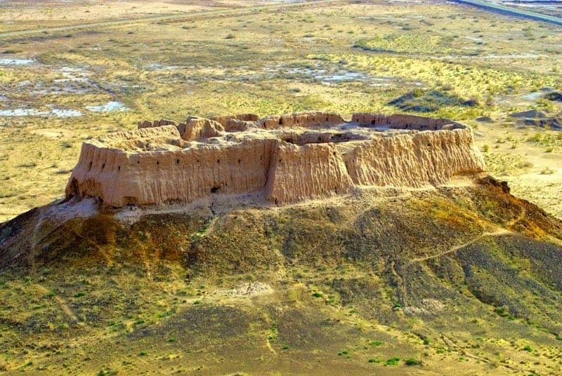 Giorno 4. Khiva – Toprak Kala – Ayaz Kala – Khiva