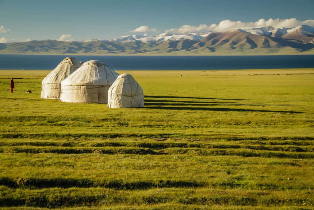 Tag 7. Kazarman – Son Kol (ca. 160 km., 5-6 St.)