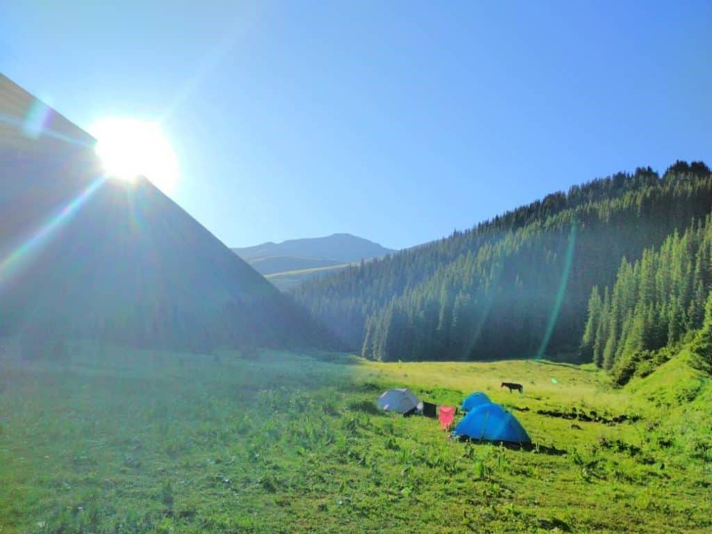 Day 5. Lake Kol Kogur – Kyzyl Aska (Trek)
