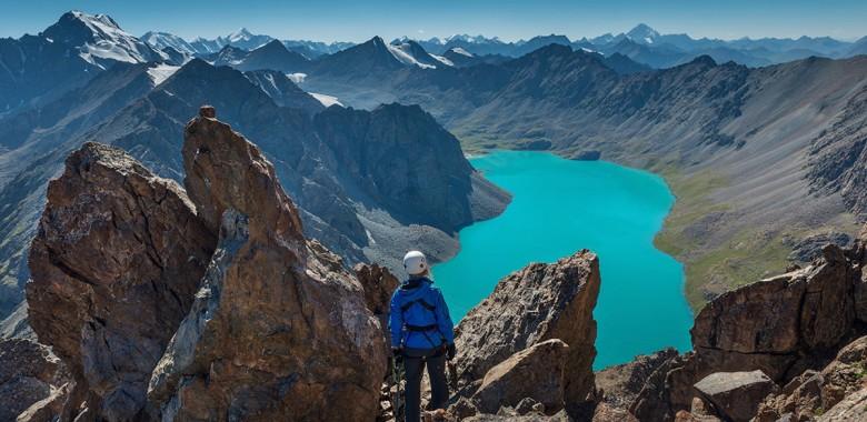 Jour 9. Sirota – lac Ala Kol (3 500 m) – col Ala Kol (3 800 m) – Keldike (Trek à pied)