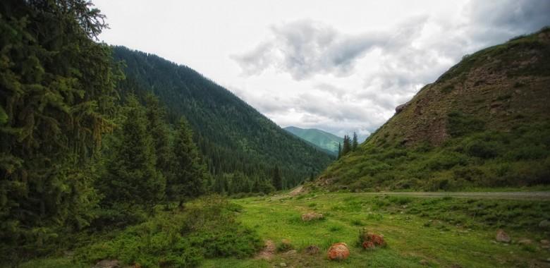 Jour 2. Bichkek – Bourana – Iskra village - Tchon Kemin (ca. 200 km., 3h.)