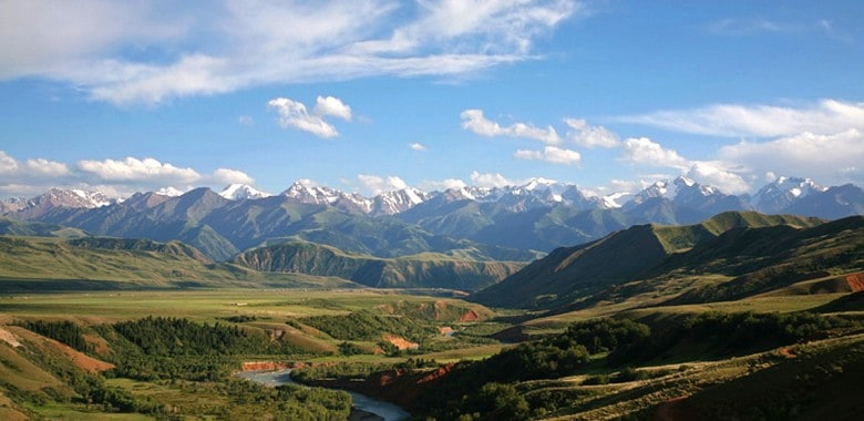 Jour 5. Naryn – Eki Naryn – Kochkor (60% piste, 40% goudronné)