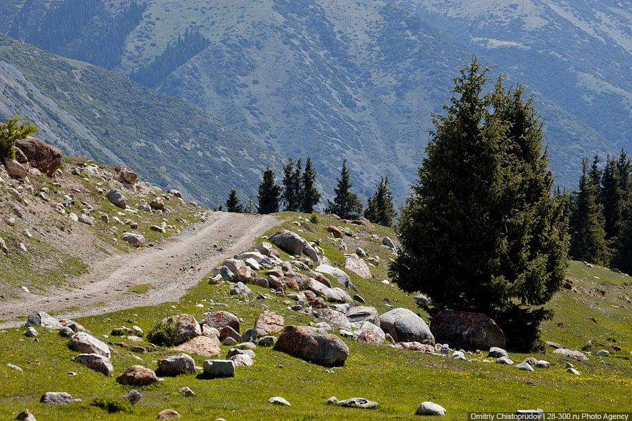 Jour 10.  Karakol – gorges Grigorievskoe et Semienovskoe – Tchon Kemin (ca. 300 km, 4 h de transfert) (VTT)Jour 10.  Karakol – gorges Grigorievskoe et Semienovskoe – Tchon Kemin (ca. 300 km, 4 h de transfert) (VTT)
