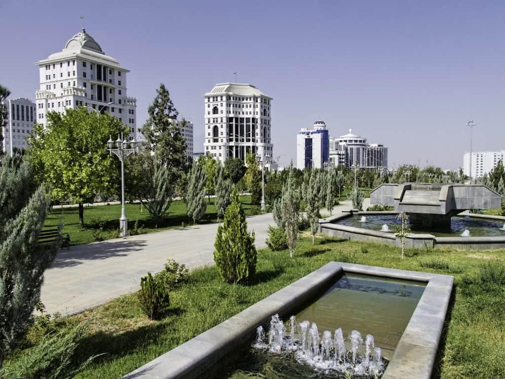 Giorno 1. Airport – Ashgabat
